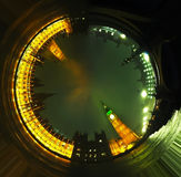 Big Ben fotografii tunel Obrazy Royalty Free