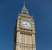 Big Ben great clock tower in London Royalty Free Stock Photos
