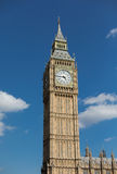 Big Ben great clock tower in London Stock Photography