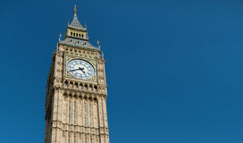 Big Ben great clock tower in London Stock Photo