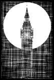Big Ben Grunge Background Royalty Free Stock Photo