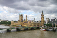 Big Ben and the Hall of Parliament, London Stock Images