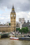 Big Ben and the Hall of Parliament, London Royalty Free Stock Photo