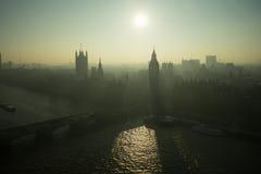 Big Ben hazy day Royalty Free Stock Image