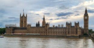 Big Ben HDR i parlament Obrazy Stock