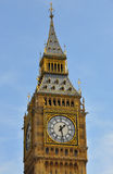 Big Ben. High in the sky Stock Image