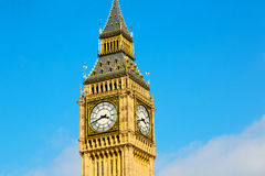 Big ben and historical  england  aged city. London big ben and historical old construction england   city Royalty Free Stock Photos