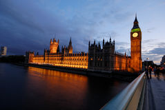Big Ben, House of Parliament 2 Royalty Free Stock Image