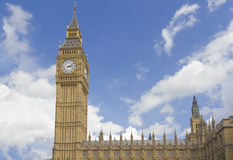 Big Ben and the house of Parliament Stock Photo