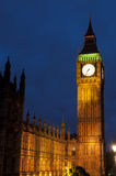 The big ben and house of parliament Royalty Free Stock Photo