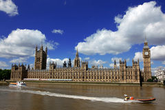 Big Ben and the House of Parliament Royalty Free Stock Photo