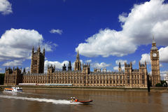 Big Ben and the House of Parliament Stock Photography