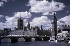 Big Ben and the House of Parliament Stock Images