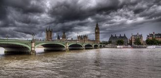 Big Ben and House of Parliament. London, UK Stock Photography