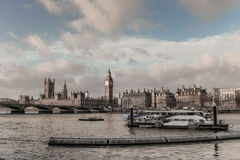 Big Ben, House of Parliament Stock Photography