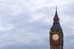 Big Ben and house of Parliament Stock Image
