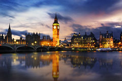 Big Ben and House of Parliament Royalty Free Stock Image