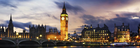 Big Ben and House of Parliament Royalty Free Stock Images