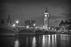 Big Ben and the House of Parliament, London Royalty Free Stock Images