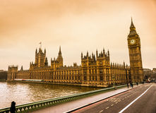 The Big Ben and the House of Parliament, London. Stock Photography