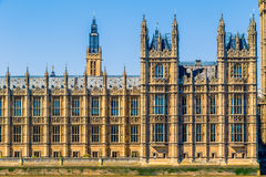 Big Ben and House of Parliament in London Royalty Free Stock Image