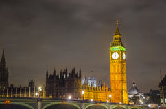Big Ben and House of Parliament, London Stock Photo