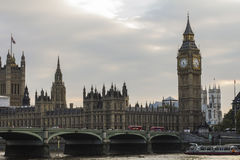 Big Ben and House of Parliament Royalty Free Stock Photos