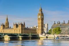 Big Ben and House of Parliament, London, UK. Big Ben Clock Tower and House of Parliament, London, England, UK Stock Photos