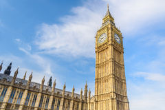 Big Ben and House of Parliament, London, UK stock image