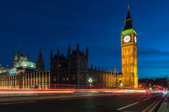 Big Ben and House of Parliament in London, UK Royalty Free Stock Images