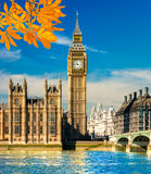 The Big Ben and the House of Parliament, London, UK. Stock Photos