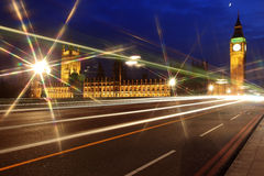Big Ben and the House of Parliament Royalty Free Stock Image