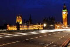 Big Ben and the House of Parliament Royalty Free Stock Images