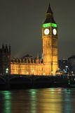 Big Ben and house of parliament at twilight, London Royalty Free Stock Image