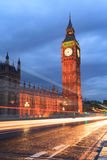 Big Ben and house of parliament at twilight Stock Photos