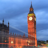 Big Ben and house of parliament at twilight, London, UK Stock Photography