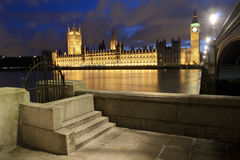 Big Ben and the Houses of Parliament Stock Photos