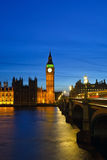 Big Ben and Houses of Parliament Stock Image