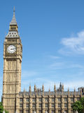 Big Ben and Houses of Parliament. In London UK Stock Images
