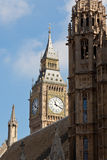 Big ben and the houses of parliament Stock Photography