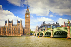 Big Ben and Houses of Parliament. London, UK Stock Image