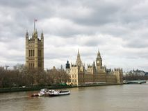 Big Ben & Houses of Parliament. London, England stock photos