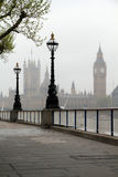 Big Ben & Houses of Parliament Royalty Free Stock Photography