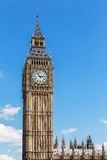 Big Ben at the Houses of Parliament aka Westminster Palace in Lo Stock Photography