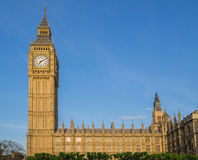 Big Ben and Houses of Parliament Stock Images