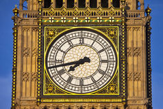 Big Ben (Houses of Parliament) Close-up Royalty Free Stock Photo