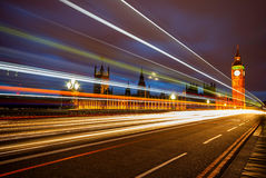 Big Ben and Houses of parliament at dusk Stock Images