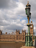 Big Ben and Houses of Parliament in London Royalty Free Stock Images