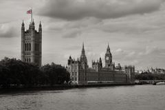 Big Ben and Houses of Parliament, London Stock Image