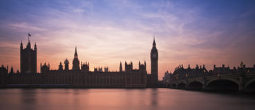 Big Ben and Houses of Parliament London Royalty Free Stock Photo